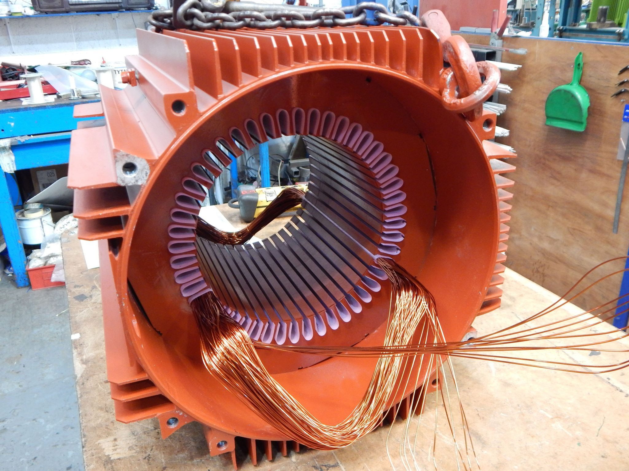 Electric Motor Repairs - Knowlton and Newman